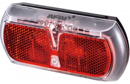 Infini Apollo rear carrier light, dynamo with 4 minute standlight