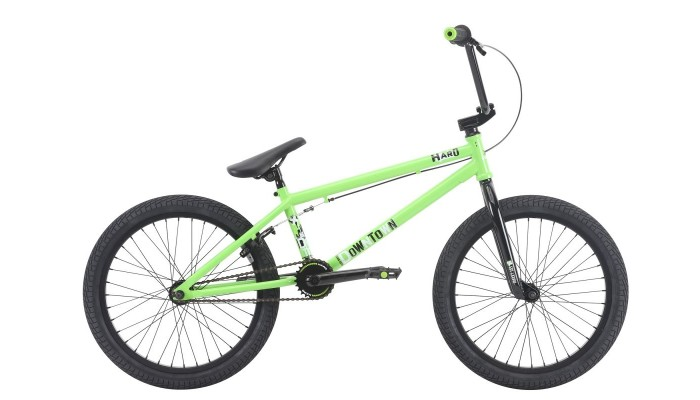 "Haro Downtown 20.3"" TT BMX Gloss Lime"