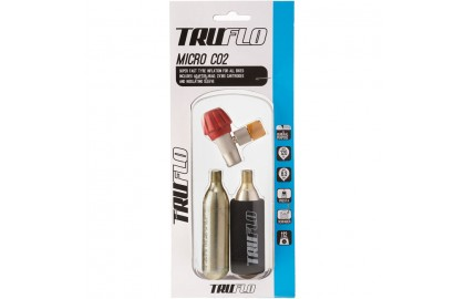 Micro CO2 pump - including 2 x 16 g cartridges